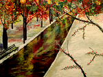Winter In The Park print final 1 by theartstudiobymarkmo