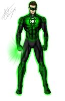 Green Lantern - The Emerald Soldier by celsohenrique