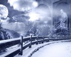 mists of winter by Isidora