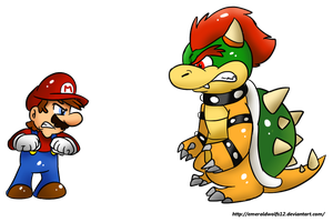 AT: Mario and Bowser by MariobrosYaoiFan12