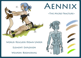 Aennix: The Micro Fracture by Kezzle