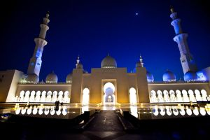 Sheik Zayed Mosque IV by Mezzn