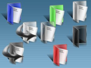 Colored Folders   XP Icons by spider4webdesign Iconos para Windows XP