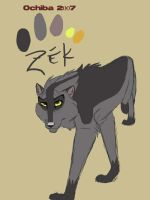 Zek redesigned by Ochiba
