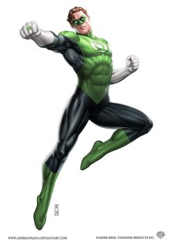 Green Lantern by AdmiraWijaya
