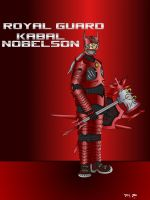 Royal Guard Kabal Nobelson (remastered) by xchainlinkx