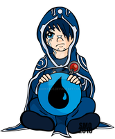Jace Beleren by QuarkFace