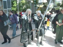 Mr. and Mrs. Sephiroth by Melimoe