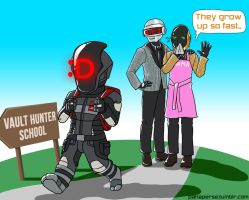 Daft Punk Parents I by sheiku92