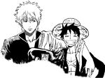 Luffy and Gintoki 2 by JStarsProject