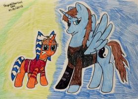 Master and Apprentice by SkywalkerGirl666