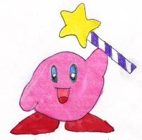 Kirby and the Star Rod by BrawlKoopa