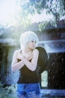 Rain on your wings by BakaMeco