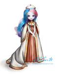 Doll Concept: Celestia by Whitestar1802