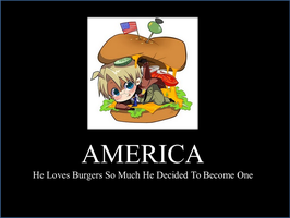 America's Love of Burgers by infiniteangel24