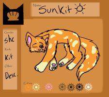 Sunkit Ref: Kit of Shellclan by BeadFeather
