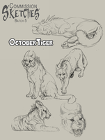 OctoberTiger commission by DawnFrost