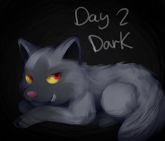 Day 2: Dark by LoveBobu