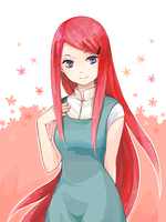 Kushina by Pixel-Kitty121