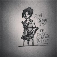 Daryl Dixon by SirSlayer62