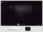 Dark theme for Zune software by Andy202