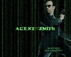 Agent Smith Wallpaper by AgentFrey