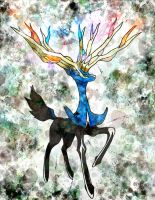 XERNEAS, a Fairy-Type Pokemon? by Macuarrorro
