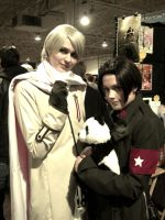 Russia and China Cosplay by MoonChild145