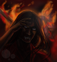 I Breath in Fire and Ash by Tsenny