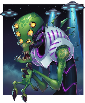 Alien by GhostHause