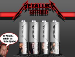 METALLICA BATTRIES by shadowchoper