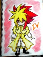 .:COMMISSION: IV(Chibi) COLORED:. by YuGiOh4Ever