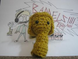 Crochet Stephano eWe - WIP by DibFan4LifeX3