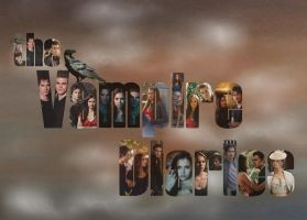 Vampire Diaries Wallpaper by Mistify24
