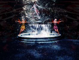 fairy fountain by mysteriousfantasy