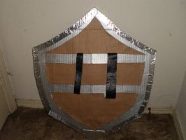 The Legend of Zelda Shield II (Rear View) by Gryphon009