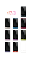 Zune HD - Icon Package by Satukoro