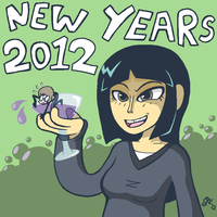New Years 2012 by Rickz0r