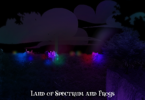 Land of Spectrum and Frogs by preciouslittletoasty