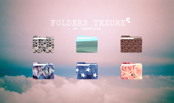 Folders Texture by TrendyLife