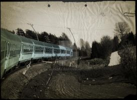 Blue Train by Alharaca