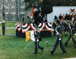 President Reagan at West Point by AG88