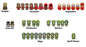 OLD - Sprites for 'Azurelight' by Of-Nihility