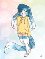 Cabbit Girl by nek0bunny