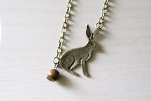 Bunny Poop Necklace 2 by MonsterBrandCrafts