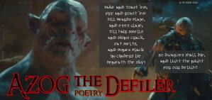 Oakenstill #13: Azog The Poetry Defiler by PeckishOwl