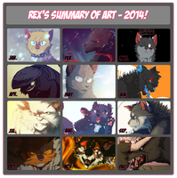 2014 Summary of Art by CrookedLynx