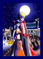 NaruHina:Happy Halloween by mrJINKS
