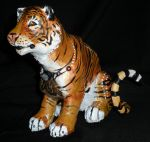 Comissioned Tiger Sculpture by Shadowind