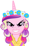 Evil Cadence is best princess by The-Smiling-Pony